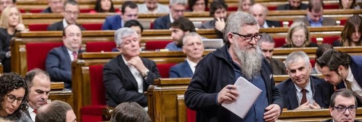 """Joan Garriga: """"Aquesta no és una legislatura normal, ni pretenem ni volem que ho sigui"""""""