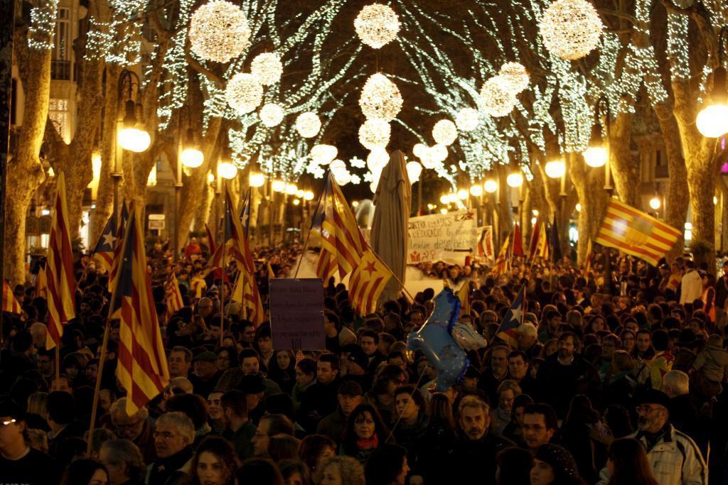 Des de Mallorca, avançam cap a la ruptura i l'autodeterminació